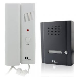 1byone 2 Wires Audio Door Phone Intercom System