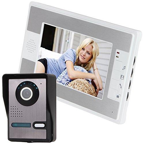 Gbragain 7 Color TFT LCD Wired Video Door Phone Doorbell Intercom