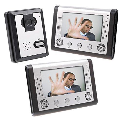 KKmoon 7 Inch Video Door Phone Doorbell Intercom Kit