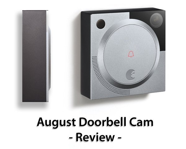 Featured image for article:  August Doorbell Cam Review