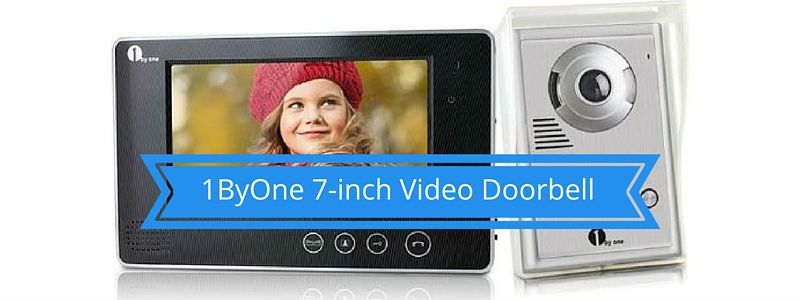1ByOne 7-inch Video Doorbell
