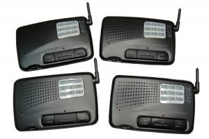 Home and Office Intercom System Digital FM 9-Channel 4- Station