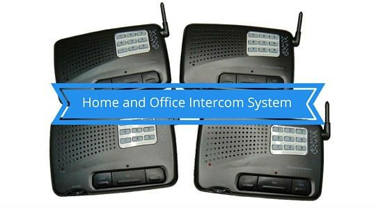 Home and Office Intercom System Digital FM