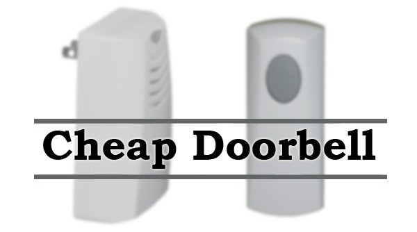 Featured image for article: Cheap doorbell