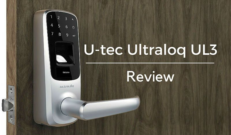 Featured image for article: U-tec Ultraloq UL3 Review