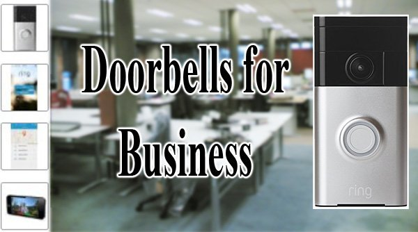 Featured image for article: Best Doorbells for Business