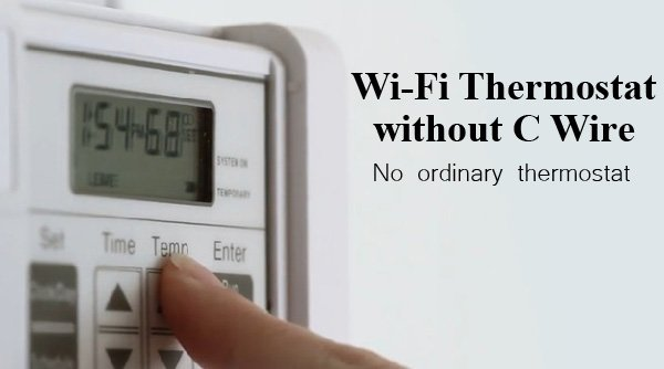 Featured image for article: Wi-Fi Thermostat without C Wire