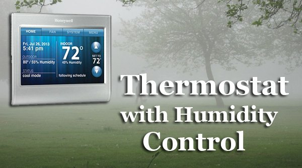 Featured image for article: Thermostat with Humidity Control
