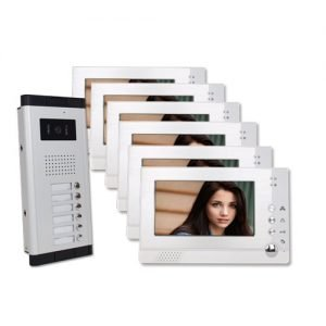 Six Units Apartment Video Intercom