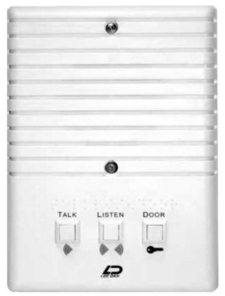 Best Apartment Intercom Systems Simple Two Way Communication Circuit Schematic Diagram Tektone Has Designed An System That Is A Great Combination Of Modern Styling And Operating The