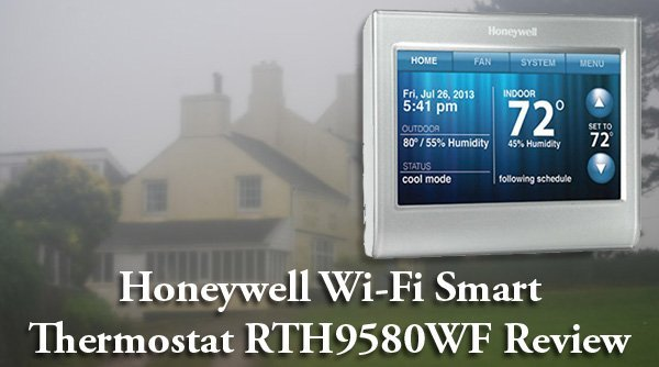 Featured image for article: Honeywell Wi-Fi Smart Thermostat RTH9580WF Review