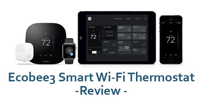 Featured image for article: Ecobee3 Smart Wi-Fi Thermostat Review