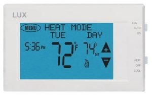 Lux Products TX9600TS Universal 7-Day Programmable Touch Screen Thermostat
