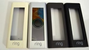 Ring video doorbell pro front face panels