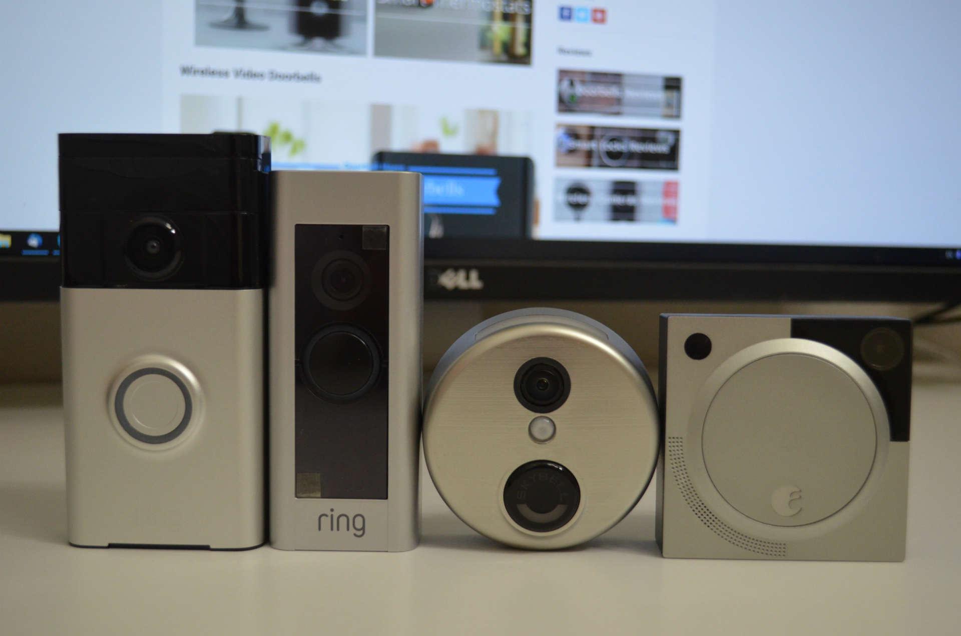 best video doorbell reviews skybell hd vs ring pro vs. Black Bedroom Furniture Sets. Home Design Ideas