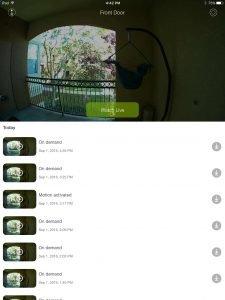 Skybell HD App