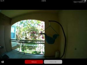Skybell HD In Day Time