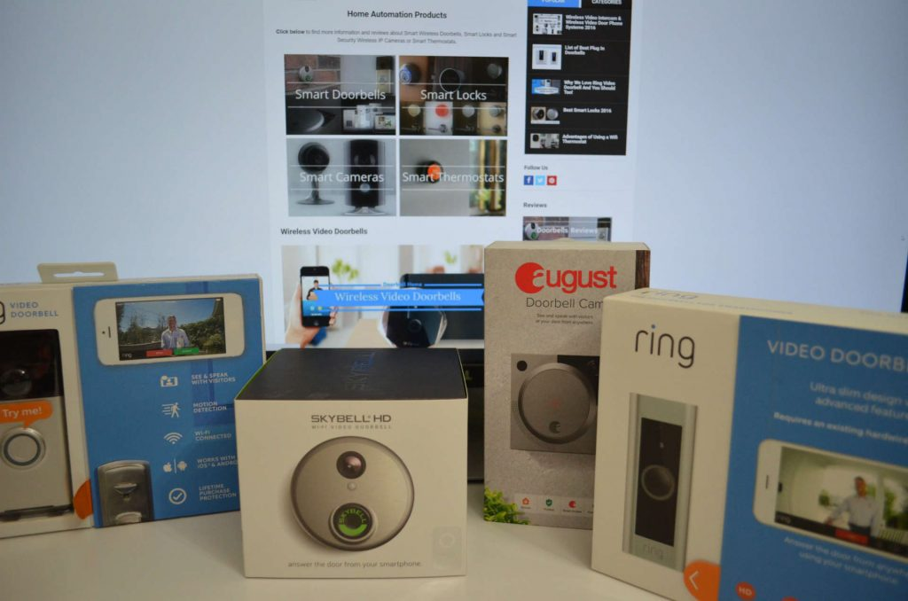Skybell HD vs Ring Pro vs August Doorbell