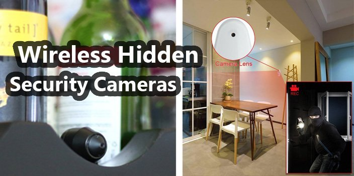 Featured image for article: Wireless Hidden Security Cameras