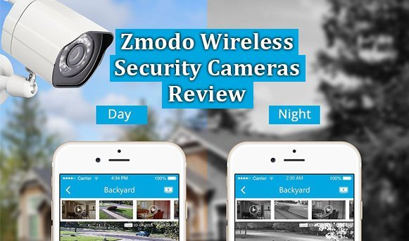Featured image for article: Zmodo Wireless Security Cameras Review