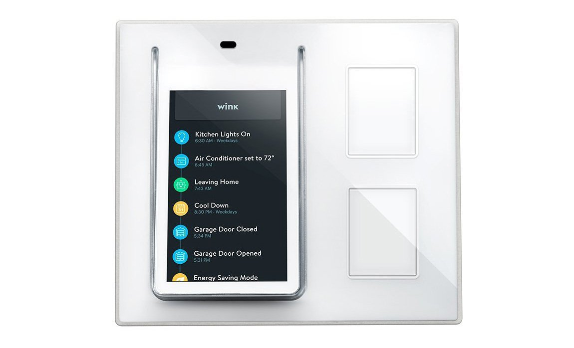 Wink Relay - Smart Home Touchscreen Control Panel