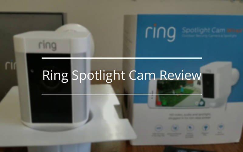 Ring Spotlight Camera Review