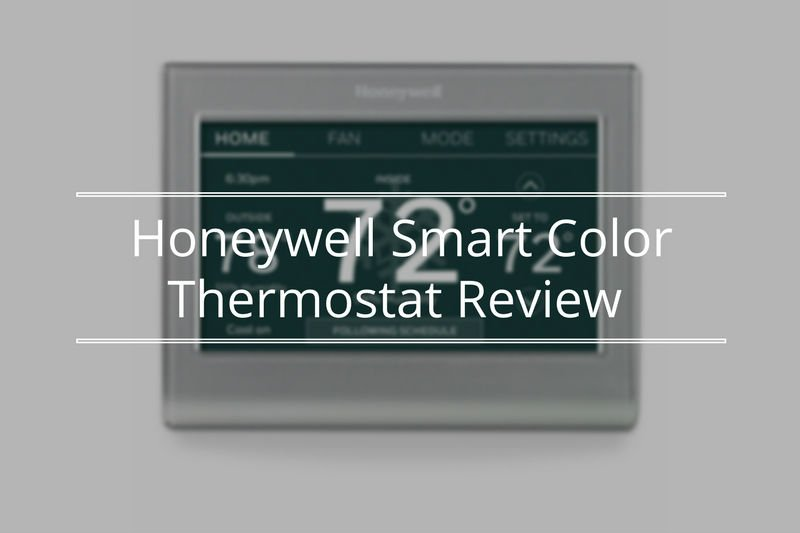 Honeywell Smart Color Thermostat Review