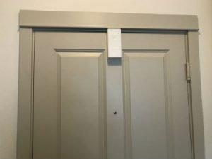 Remo DoorCam on the door back view