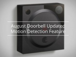 August Doorbell Updated Motion Detection Feature