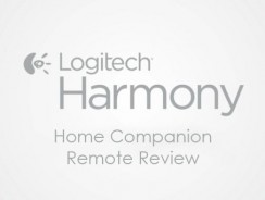 Logitech Harmony Home Companion Remote Review