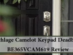 Schlage Camelot Keypad Deadbolt BE365VCAM619 Review