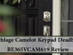 Schlage Camelot Keypad Deadbolt BE365VCAM619 Review