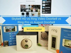 Skybell HD vs Ring Doorbell Pro vs August Doorbell: Choosing Best Smart Doorbell in 2018