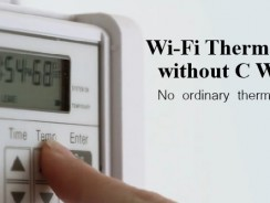 Wi-Fi Thermostat without C Wire